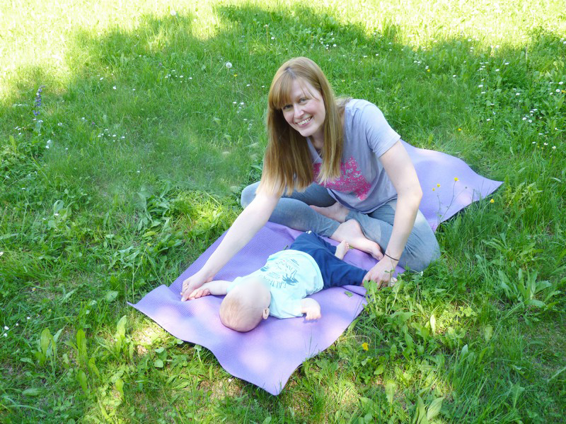 yoga mamma bebè a verona